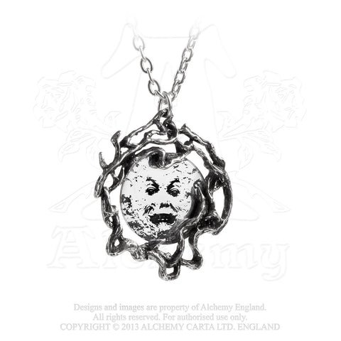 P782 - M'era Luna Melies Moon Pendant by Alchemy of England - New