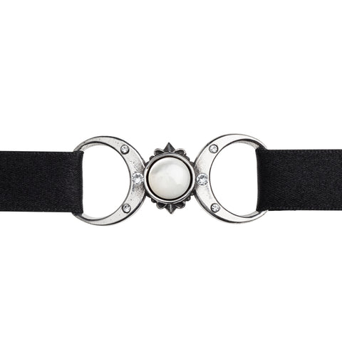 P810 - Triple Goddess Choker by Alchemy of England - New