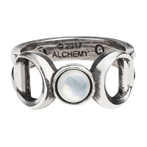 R219 - Triple Goddess Ring by Alchemy of England - New