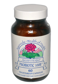 Probiotic 100B | Ayush Herbs Inc. | 60 caps