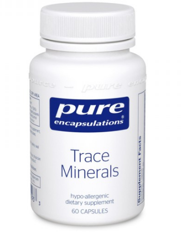 Trace Minerals | Pure Encapsulations | 60 caps