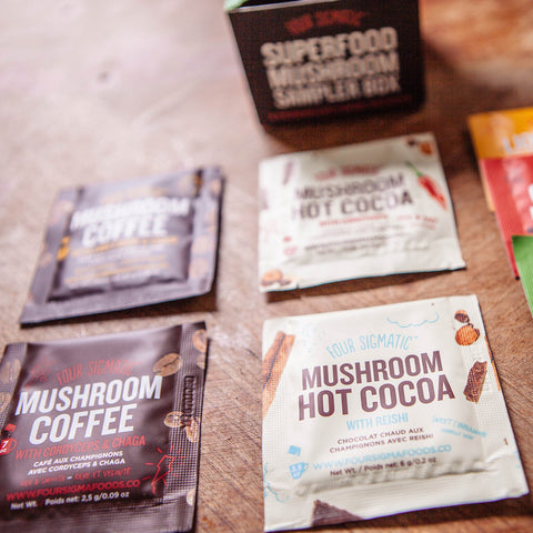 Mushroom Coffee and Cacao | Sample Box