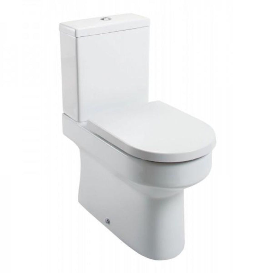 Cassellie Montego Fully Back to Wall Close Coupled Pan & Cistern - EverythingBathroom.co.uk