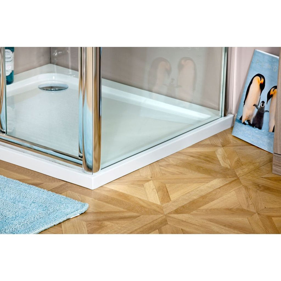 Cassellie Seis Shower Door Side Panel - 6mm Glass