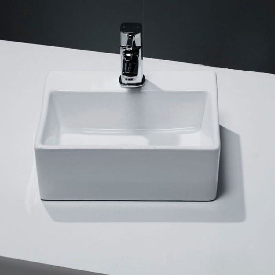 Cassellie Vessel Cloakroom Basin - 330mm Wide - 1 Tap Hole