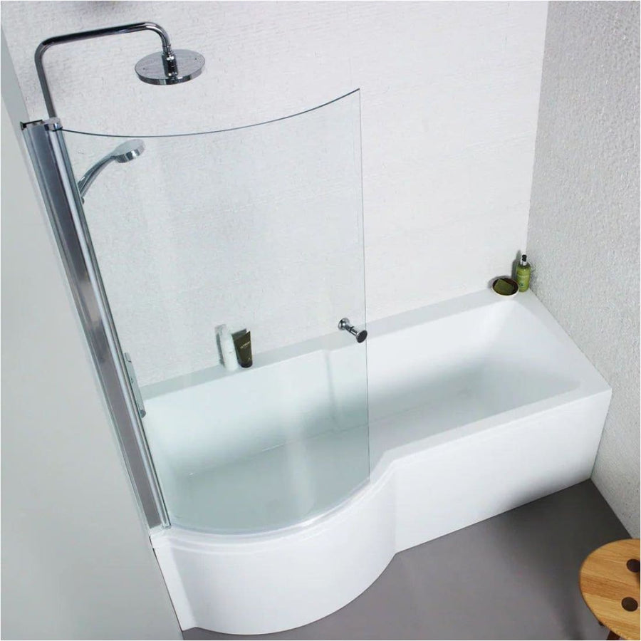 Kartell Adapt P-Shaped Shower Bath - Available in LH/RH