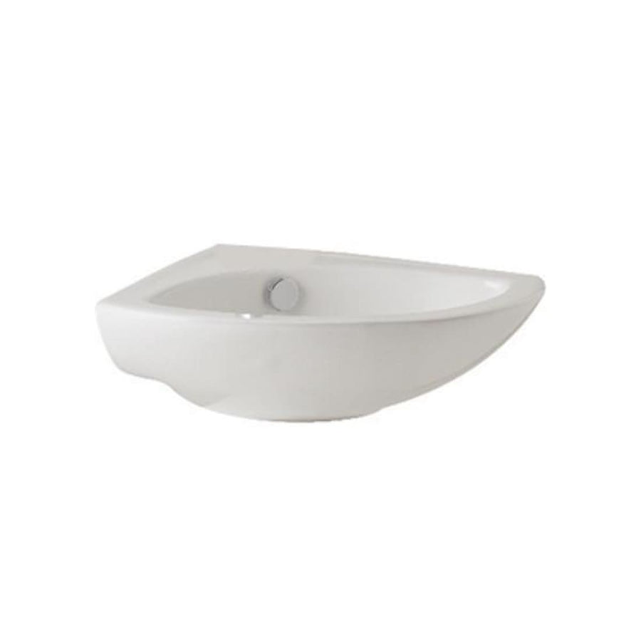 Kartell G4k 410mm Corner Basin - EverythingBathroom.co.uk