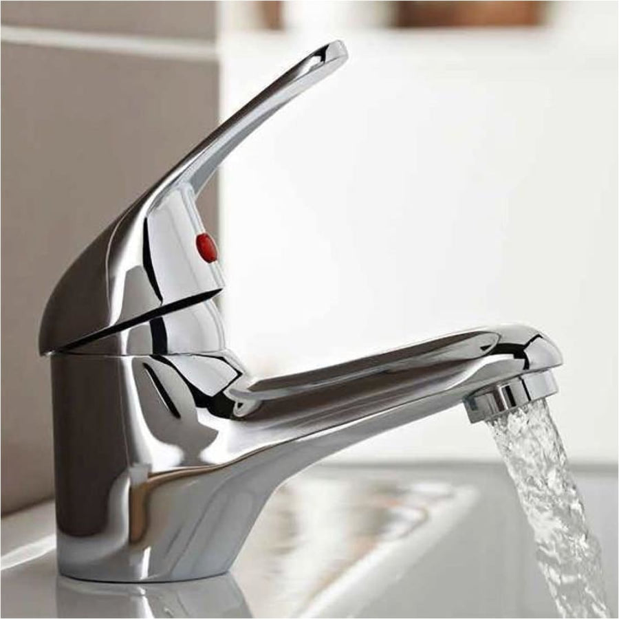 Kartell G4K Mono Basin Mixer With Click Waste - EverythingBathroom.co.uk