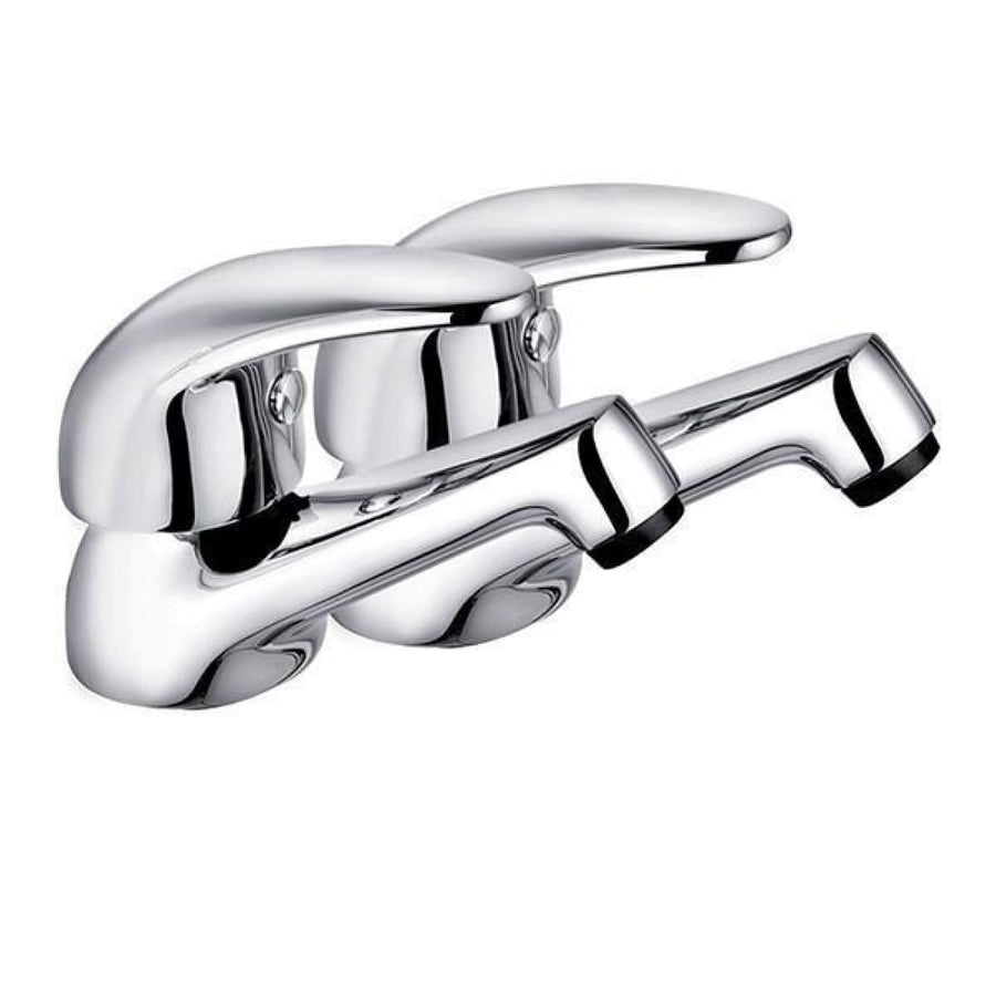 Kartell Koral Basin Taps - EverythingBathroom.co.uk