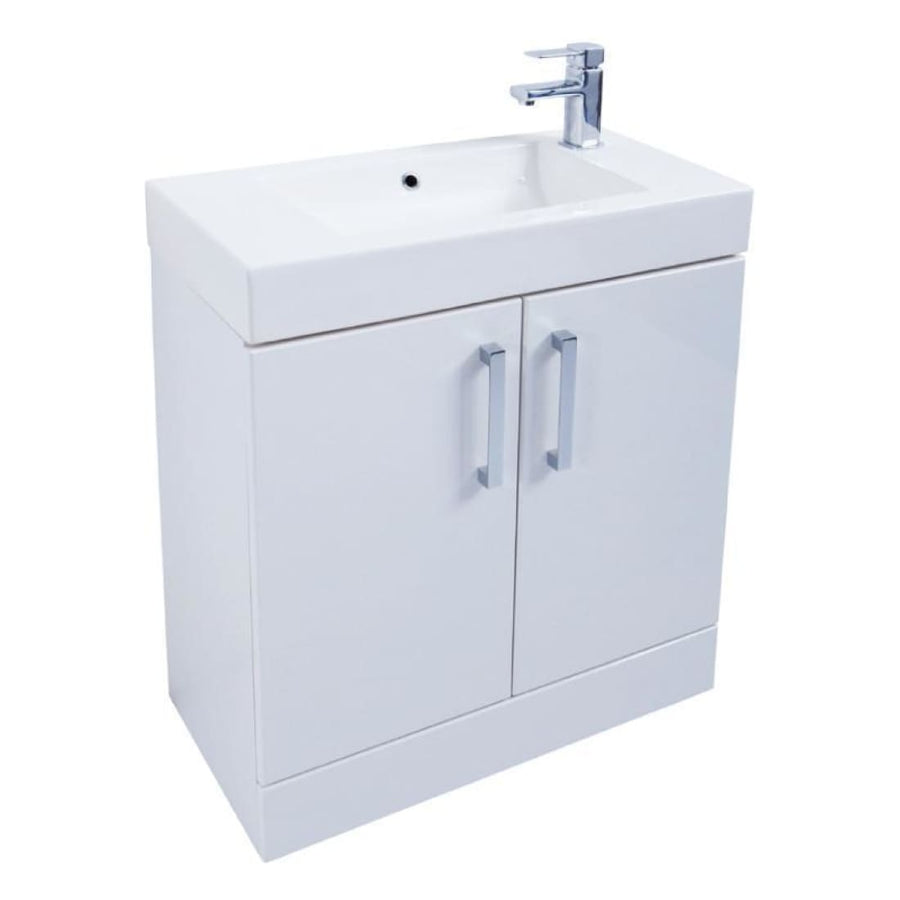 Kartell Liberty Floor Standing Unit with Ceramic Basin