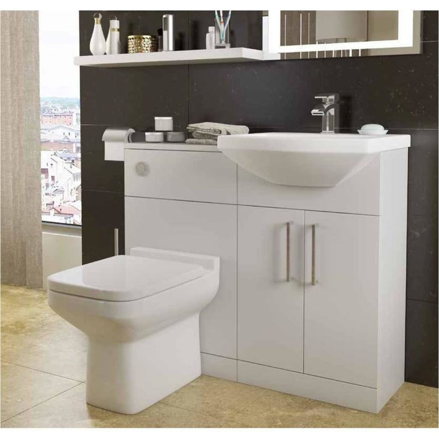 Kartell Trim 550mm Cabinet with Basin - EverythingBathroom.co.uk