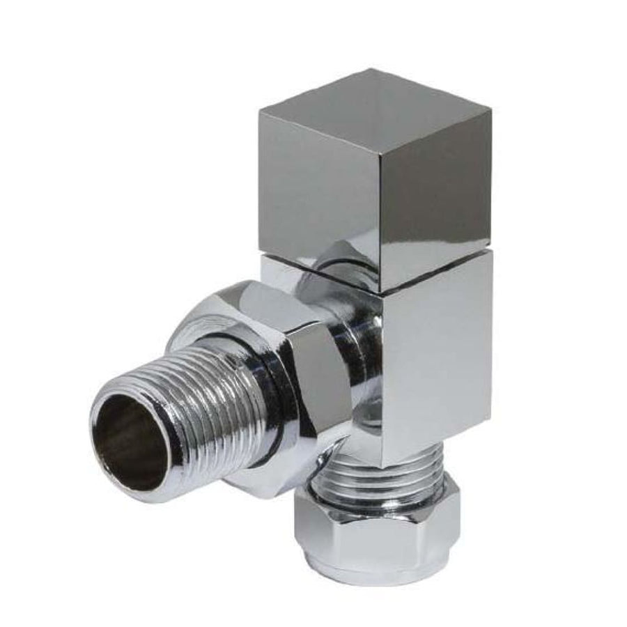 Modern Radiator Valves - Cube Straight