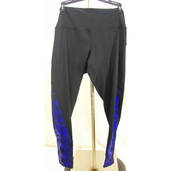 Champion C9 B9201 Women's Freedom High Waist Leggings XS X-SMALL Black & Blue - Better Bath and Beauty