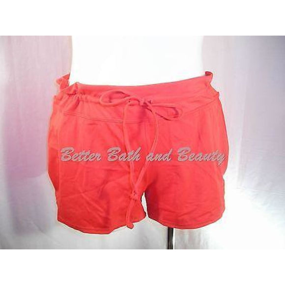Tropical Escape Swim Suit Swim Short Shorts Bottom Size 18 Tomato Red NWT - Better Bath and Beauty