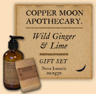 Wild Ginger & Lime Lotion & Soap