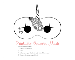 Unicorn Play Date and Birthday Party Printable Pack