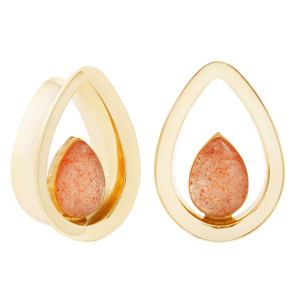 Evoke Sunstone Yellow Gold Eyelets