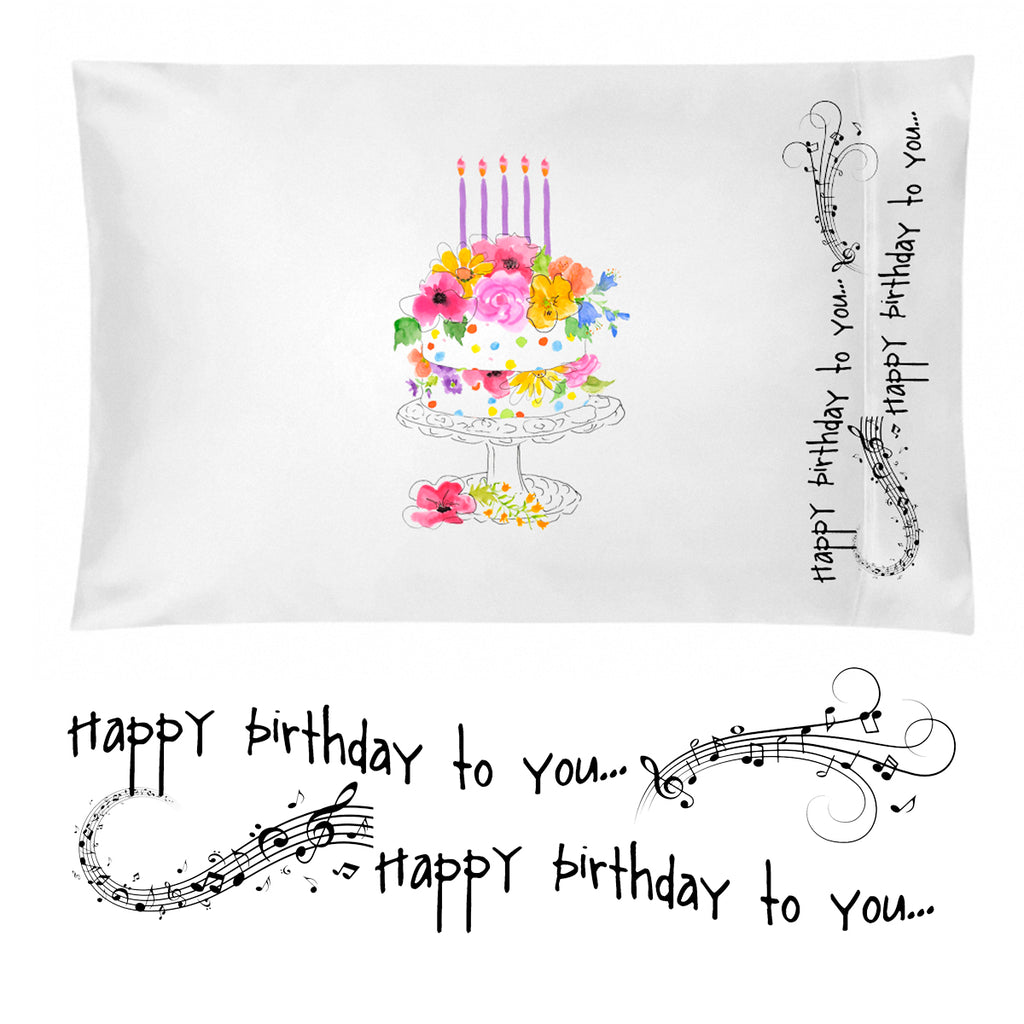 Birthday Pillowcase for Girls