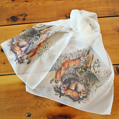 "Red Fox Ladies' ""Silky"" Scarf"