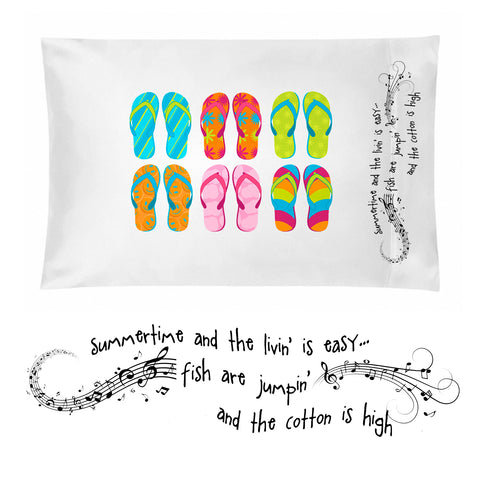 Summertime Pillowcase