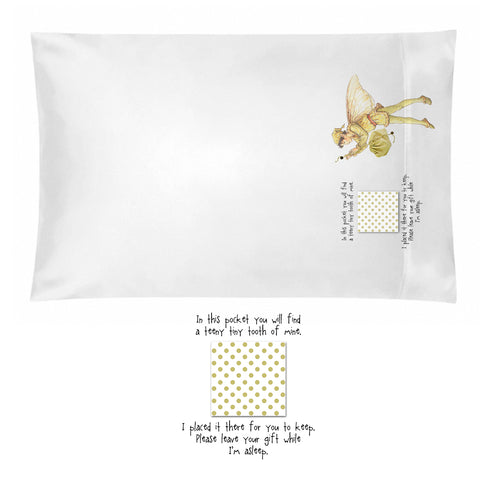 Tooth Fairy Pillowcase for Boys