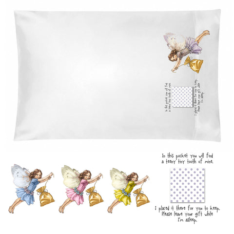 Tooth Fairy Pillowcase for Girls