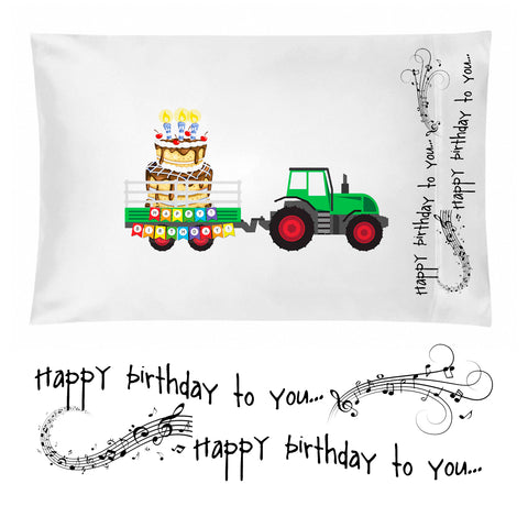 Birthday Pillowcase for Boys