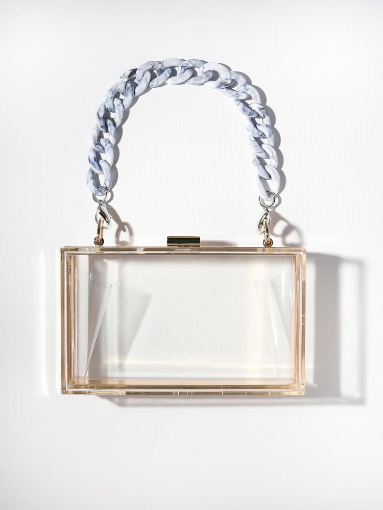 The Devo Clutch - Clear Marble