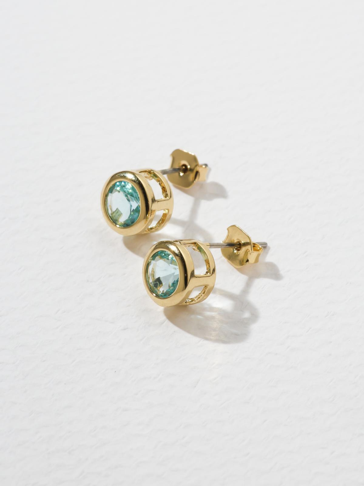 The Bardot Light Blue Earrings