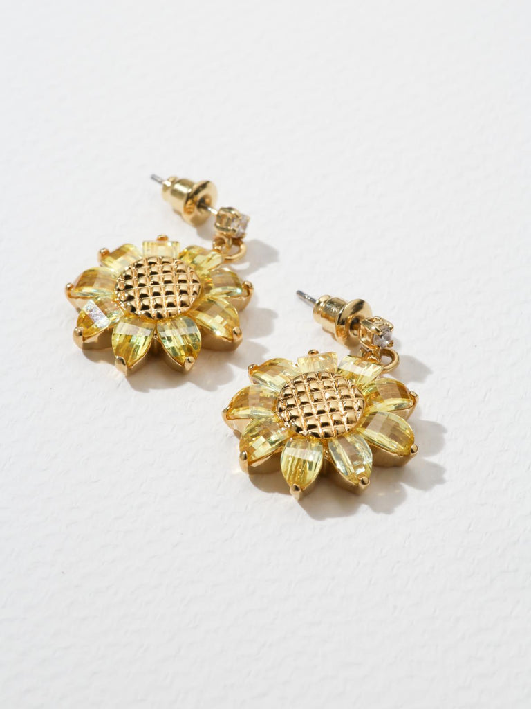 The Sunflower Earrings