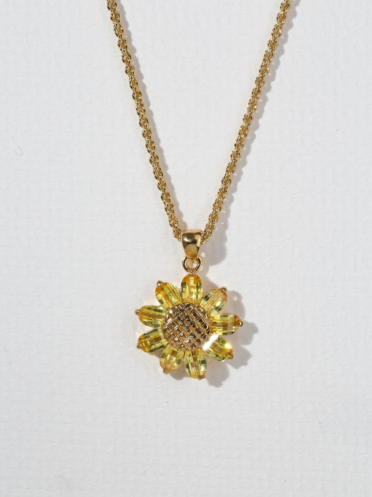 The Sunflower Necklace