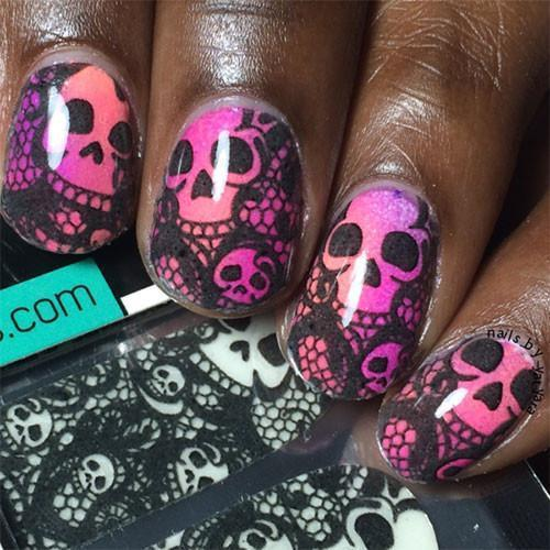 Gothique Lace-Nail Wraps-Espionage Cosmetics