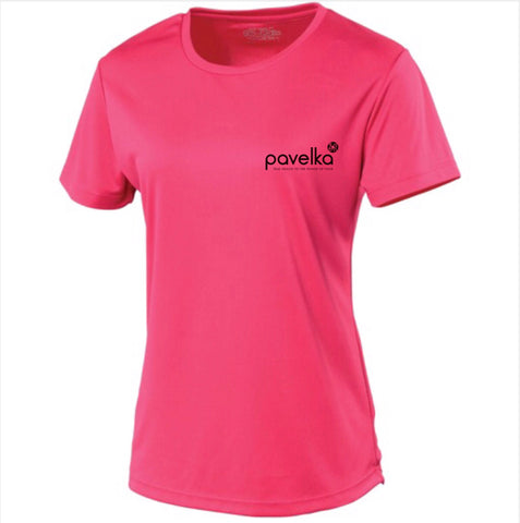 Pavelka Pink Ladies Sports Performance Cool T-shirt