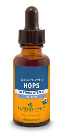 HERB PHARM ORGANIC HOPS, 4 OUNCES