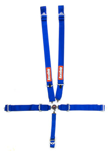 RaceQuip Harness, Sportsman, 5 Point, Camlock - Blue RQP741021