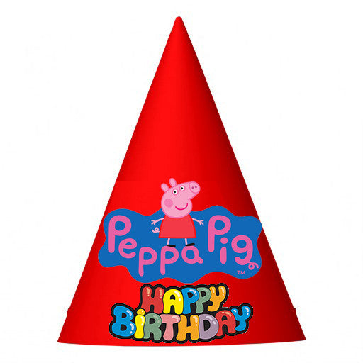 Peppa Pig Birthday Party Hat
