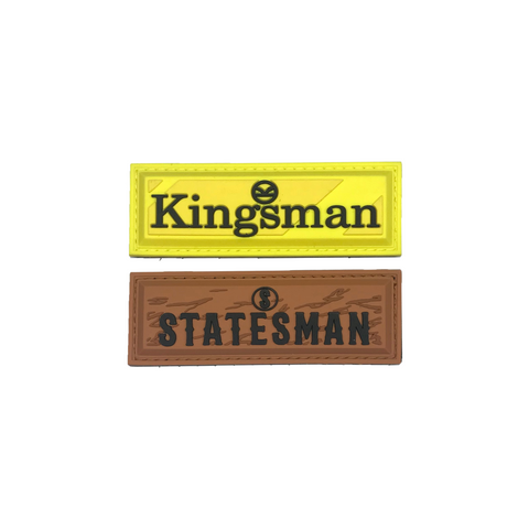 Limited Edition Statesman/Kingsman Patch Plaque Set