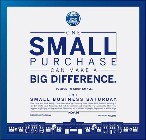 Small Business Saturday 11-26-16
