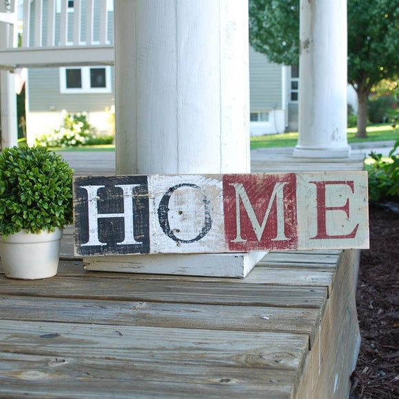 FREE SHIPPING!  Home pallet sign  I  home sign  I  home sweet home  I  housewarming gift  I  wood sign
