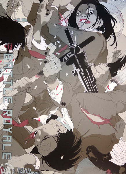 Tomer Hanuka - Battle Royale