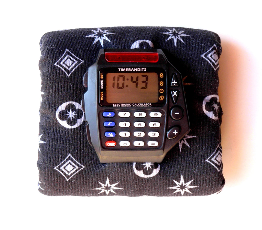 TIMEBANDITS Retro Digital Calculator Watch DCAL44BK