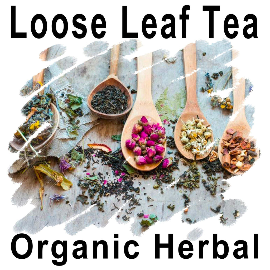 Herbal Loose Leaf Teas - (Organic and Flavourful)