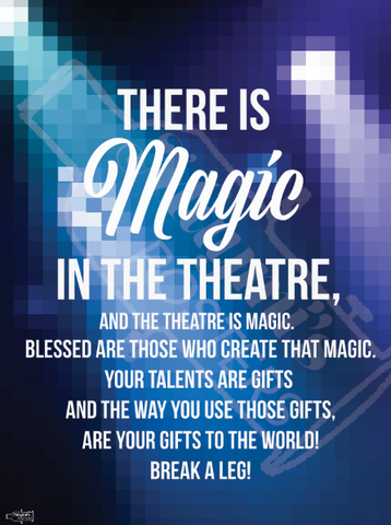Magic in the Theatre Poster