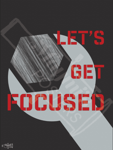 Let's Get Focused Poster