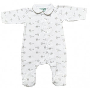 Magnet Mouse - Grey Mouse Sleepsuit