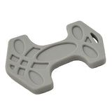 Helles Teeth Thor's Hammer Teether (Beard Grey)