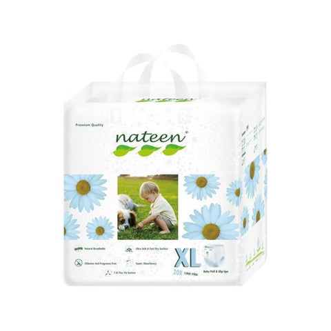 Nateen Baby Pull Up XL - Carton 8x20's