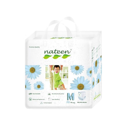 Nateen Baby Pull Up M - Carton 8x20's