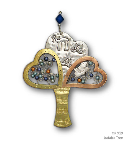 Judaica Tree - Handmade Ornament