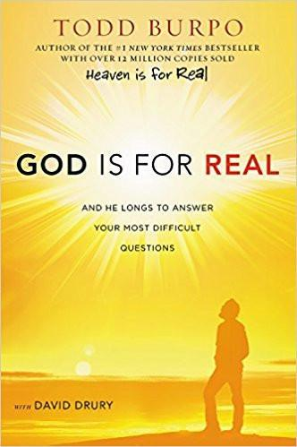 God is for Real by Todd Burpo, Hardcover Book